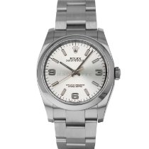 Rolex Oyster Perpetual 36 Steel 36mm Silver Arabic numerals United States of America, Maryland, Baltimore, MD