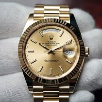 Rolex Day-Date 40 Yellow gold 40mm Champagne No numerals United States of America, Florida, Orlando