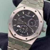 Audemars Piguet Royal Oak Dual Time Steel 39mm Black No numerals United States of America, New York, Manhattan