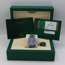 Rolex Datejust Steel 41mm Blue No numerals United States of America, California, Santa Monica
