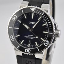 Oris Aquis Date Steel 43.5mm Blue No numerals United States of America, Ohio, Mason