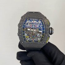 Richard Mille RM 011 RM11-03 NTPT New Carbon 49.94mm Automatic