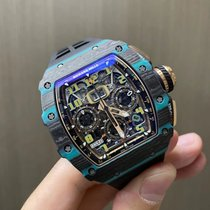 Richard Mille Carbon Automatic Transparent 44.5mm new RM 011