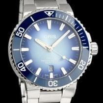 Oris Aquis Date Stahl 43.5mm Blau Deutschland, Hamburg