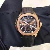 Patek Philippe Aquanaut Pозовое золото 40.8mm Коричневый Aрабские