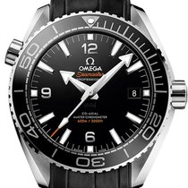 Omega new Automatic Luminous hands Chronometer Rotating Bezel Helium Valve 43.5mm Steel Sapphire crystal