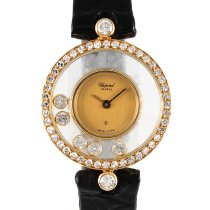 Chopard Happy Diamonds Or jaune 22.5mm Or