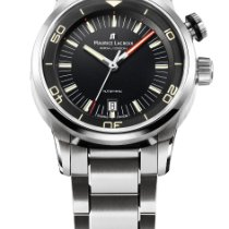 Maurice Lacroix Pontos S Diver new Automatic Watch with original box and original papers PT6248-SS002-330-1