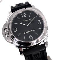 Panerai Luminor Base PAM 00219 Very good Steel 44mm Manual winding