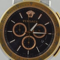 Versace Steel 46mm Quartz pre-owned