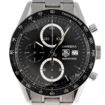 TAG Heuer Carrera Calibre 16 Acero 41.5mm Negro