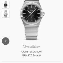 Omega Constellation nuevo 2020 Cuarzo Reloj con estuche y documentos originales 131.10.36.20.01.001