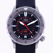 Sinn U2 Steel 41mm Black Arabic numerals
