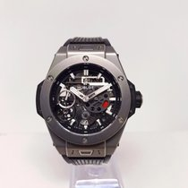 Hublot Big Bang Meca-10 Titan 45mm Svart Inga siffror