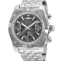 Breitling Chronomat 44 nuevo Automático Cronógrafo Reloj con estuche original AB011012/M524-375A
