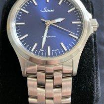 Sinn 556 Acier 38.5mm Bleu Sans chiffres France, Eze