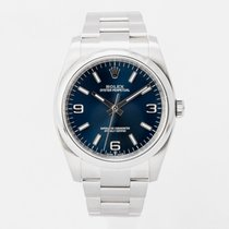 Rolex Oyster Perpetual 36 Steel 36mm Blue Arabic numerals United Kingdom, Guildford,Surrey