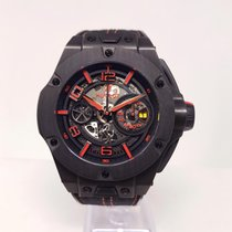 Hublot Big Bang Ferrari Carbone 45mm Transparent Arabes