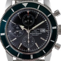Breitling Superocean Heritage Chronograph Acero 46mm Negro