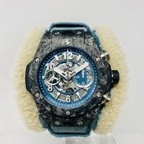Hublot Big Bang Unico 411.QK.7170.VR.ALP18 Bardzo dobry Włókno węglowe 45mm Automatyczny