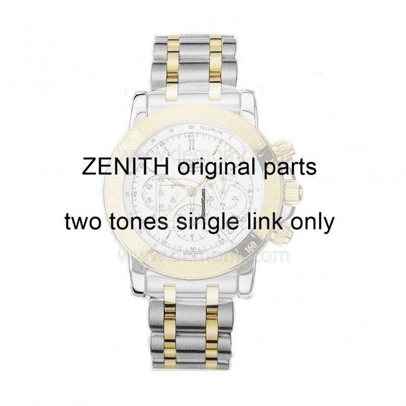 Zenith Maglia per Bracciale Rainbow Mark I e Mark II  acciaio con Viti Misure