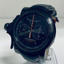 Graham Chronofighter Acero 43mm Negro Sin cifras