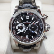 Jaeger-LeCoultre Master Compressor Chronograph Steel 41.5mm Black United States of America, Texas, spring
