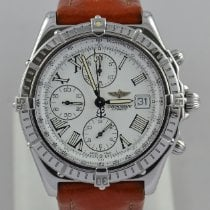 Breitling Crosswind Racing Acero 43mm Blanco Romanos
