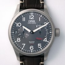 Oris Big Crown ProPilot Calibre 111 Stahl 44mm Grau