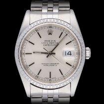 Rolex Datejust Stahl 36mm Silber