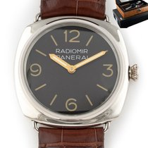 Panerai Special Editions PAM21 Very good Platinum 48mm Manual winding