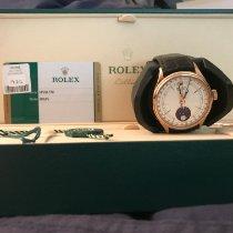 Rolex Cellini Moonphase Oro rosa 39 mmmm Blanco Sin cifras