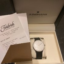 Junghans max bill Automatic occasion 38mm Blanc Cuir