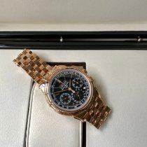 Patek Philippe Perpetual Calendar Chronograph Rose gold 41mm Black No numerals United States of America, California, Sunnyvale
