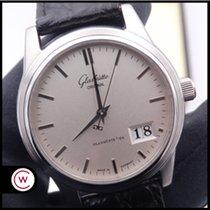 Glashütte Original Senator Panorama Date Steel 39mm Grey No numerals