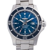 Breitling Superocean II 44 Steel 44mm Blue