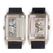 Jaeger-LeCoultre Reverso Répétition Minutes à Rideau White gold Silver United States of America, Florida, Hollywood