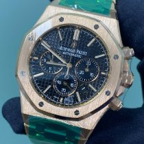 Audemars Piguet Royal Oak Chronograph Rose gold 41mm Black No numerals United States of America, New York, Manhattan