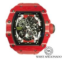 Richard Mille RM 035 RM35-02 Très bon Carbone 49.94mm Remontage automatique