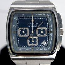 Zenith 01-0200-415 Stahl 1972 El Primero gebraucht