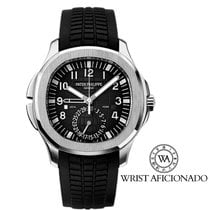 Patek Philippe Steel Automatic Black Arabic numerals 40.8mm pre-owned Aquanaut