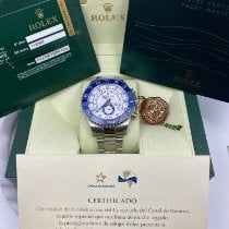 Rolex Yacht-Master II Steel 44mm White No numerals