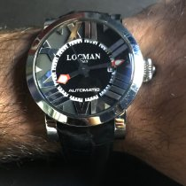 Locman Toscano Steel 44mm Black Roman numerals United States of America, California, San Juan capistrano