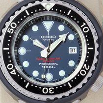 Seiko Marinemaster Titane 53.5mm Bleu