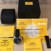 Breitling Superocean Heritage Chronograph подержанные 46mm Черный Хронограф Дата Каучук