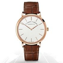 A. Lange & Söhne Saxonia Rose gold 37mm White No numerals