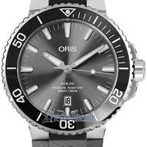 Oris Aquis Titanium Date Titanium 43.5mm Grey United States of America, New York, Airmont