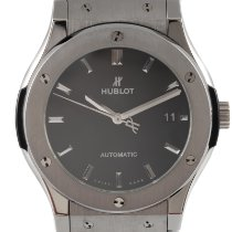 Hublot Classic Fusion 45, 42, 38, 33 mm 511.NX.1171.RX Very good Titanium 45.5mm Automatic