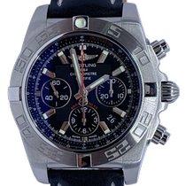 Breitling Chronomat 44 Acier 44mm Noir Sans chiffres