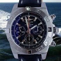 Breitling Chronomat 44 Acero 44mm Negro Sin cifras